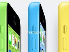 สีทั้งหมดของ iPhone 5C