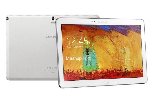 Galaxy Note 10.1 (2014 Edition) สี Classic White