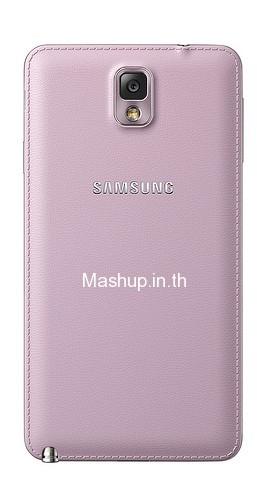 Galaxy Note III สี Blush Pink