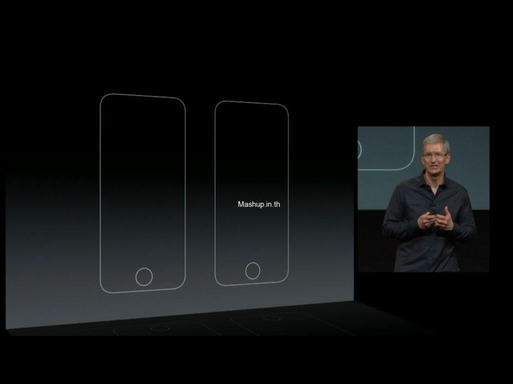 Tim Cook เริ่มเกริ่นเรื่อง iPhone ทั้ง 2 รุ่น