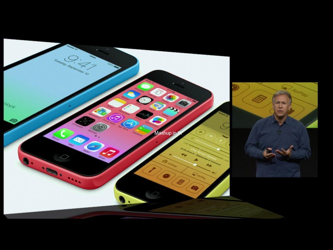 iPhone 5C ทั้ง 5 สี
