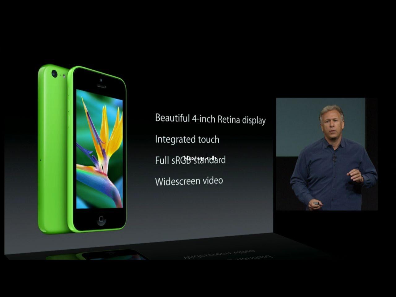 สรุป Spec  ของ iPhone 5C