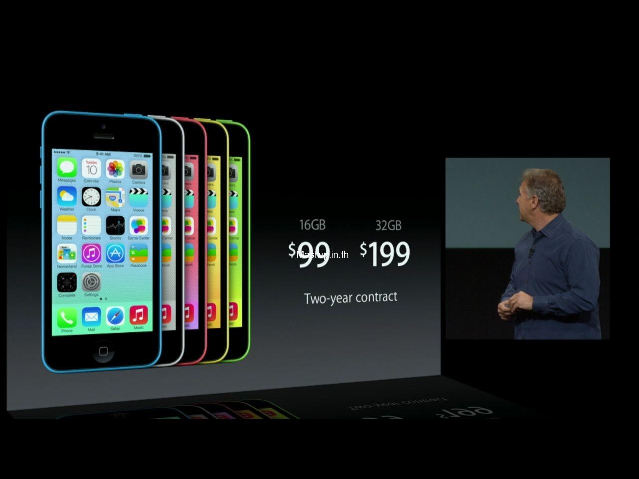 ราคา iPhone 5C แบบติดสัญญา ถูกมากๆ