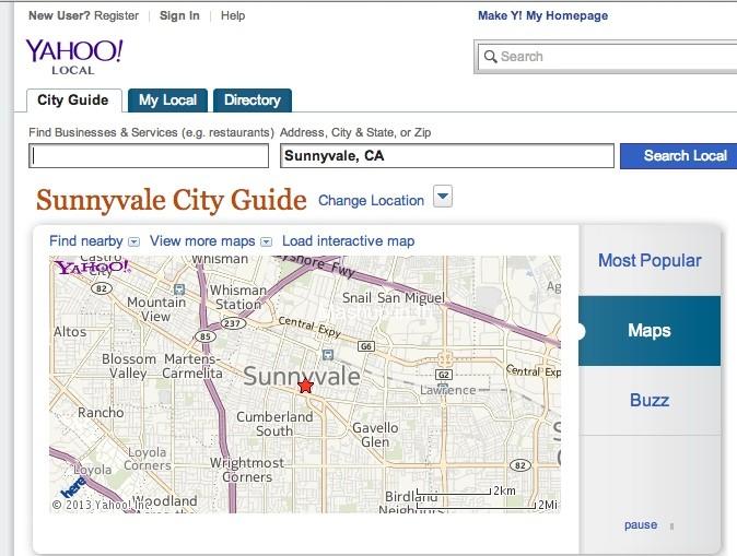 Yahoolocal
