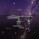 2 แผนที่ดวงดาวเมื่อเราส่อง iPhone ไปบนฟ้า