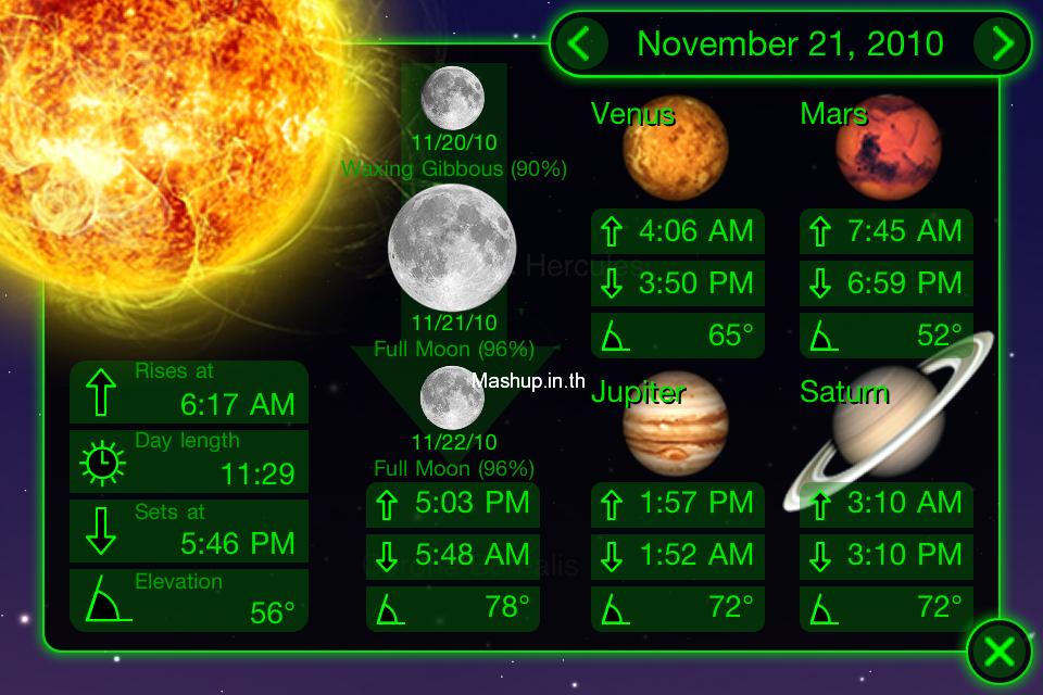 4 ข้อมูลดวงอาทิตย์ ดวงจันทร์